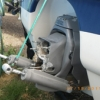 Transom, outdrive removed