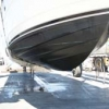 Starboard hull bottom forward