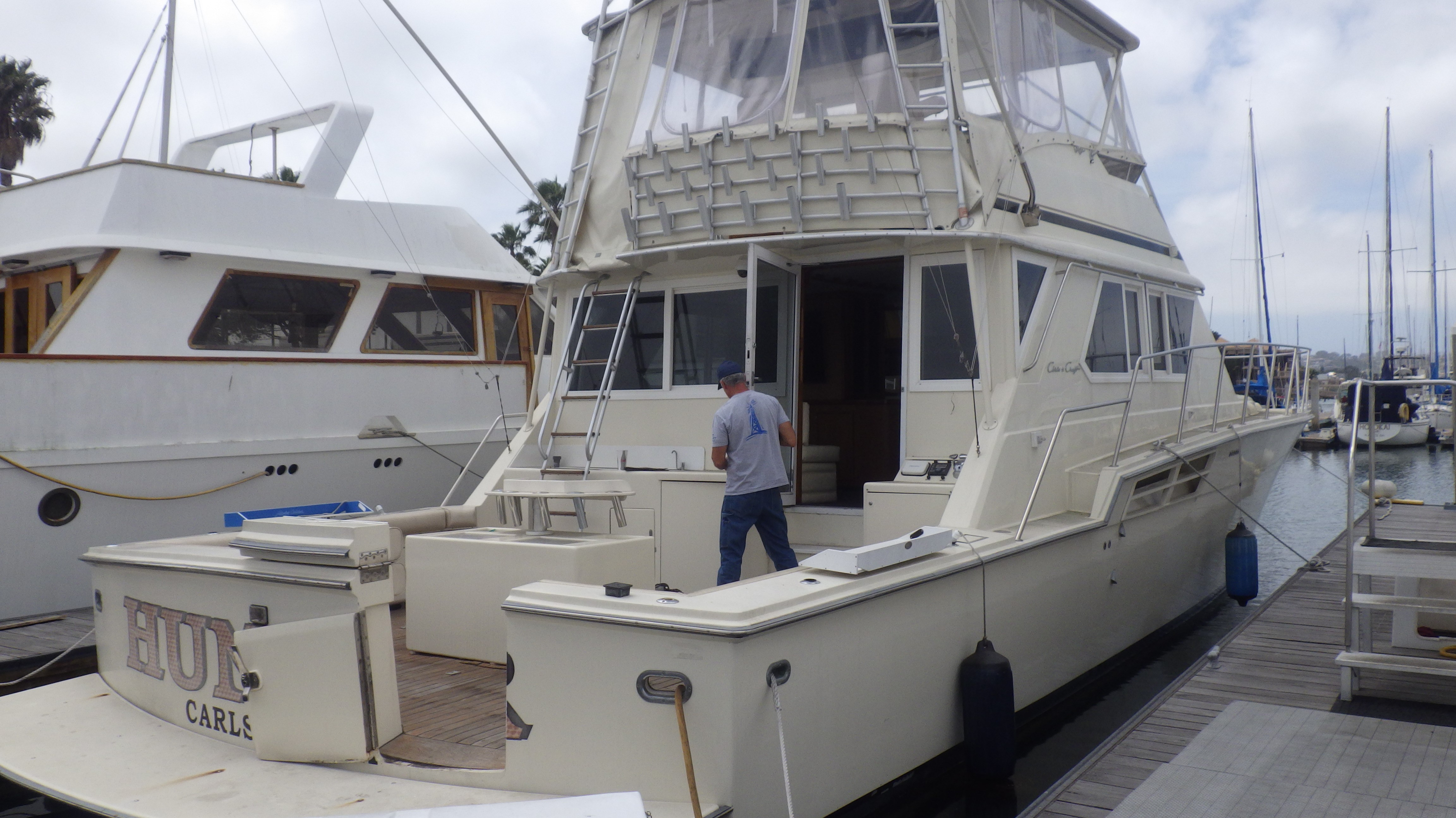 60′ Chris Craft motor vessel
