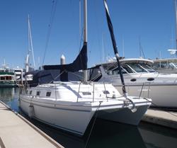 30 foot catamaran -- Endeavor