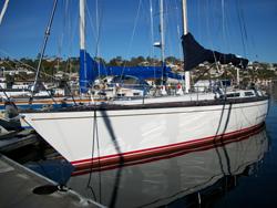 55 foot sailboat -- Baltic