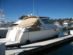 36 foot power boat -- Tiara