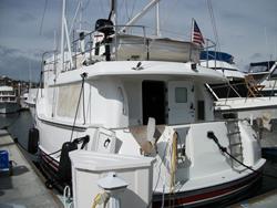 43 foot power boat -- Nordhavn