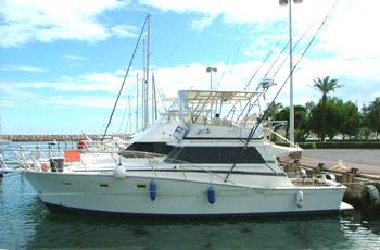 40 foot power boat -- Viking
