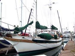 54 foot sail boat -- CT 54