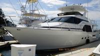 71 foot power boat -- Queenship