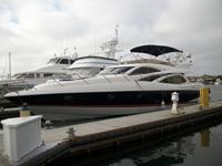 71 foot power boat -- Sunseeker