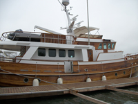 75 foot wooden trawler