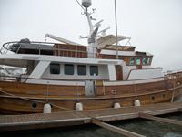 75 foot wooden trawler