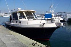 31 foot power boat -- Albin