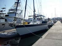 48 foot sailboat -- Tayana