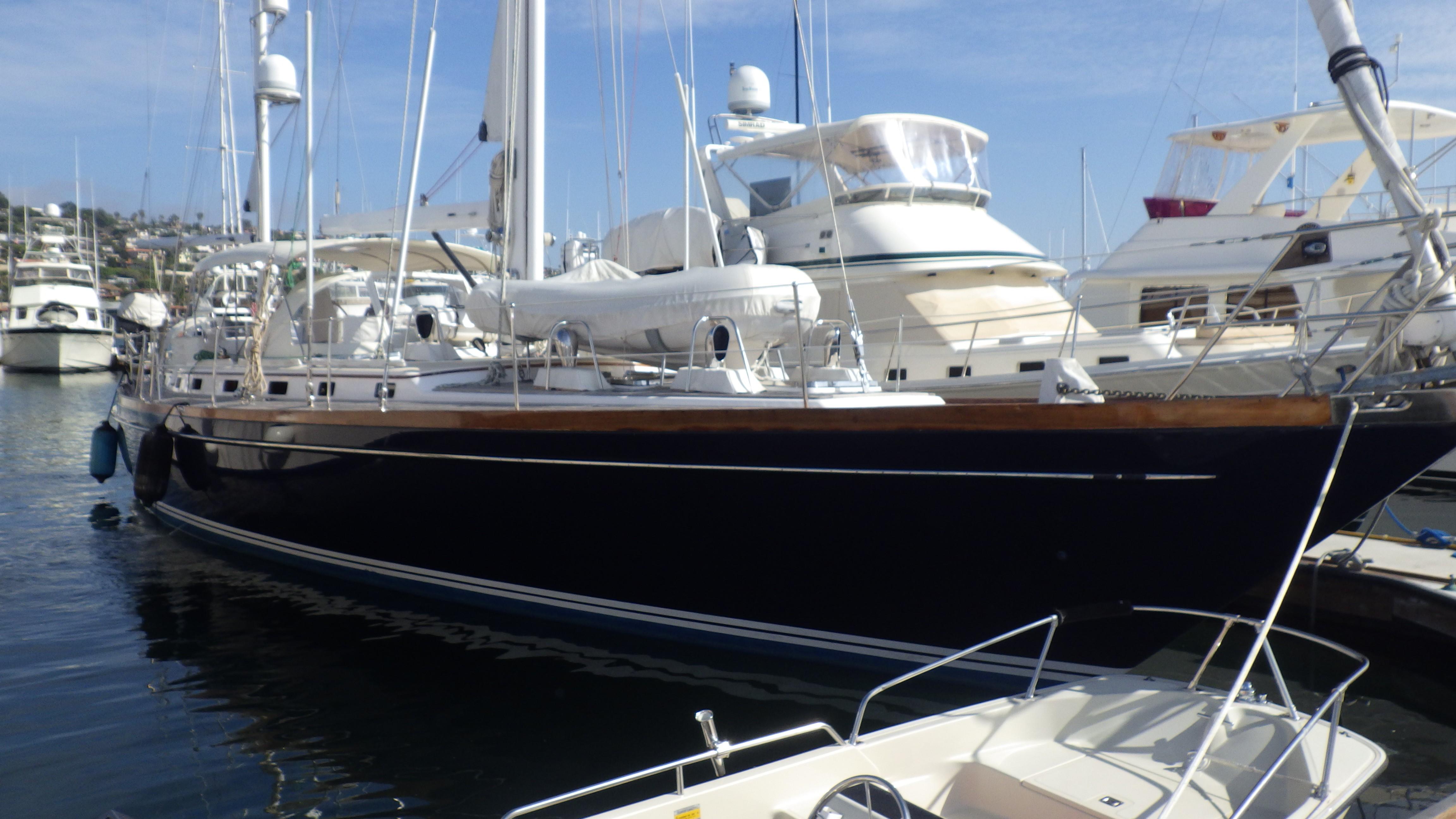 65' Little Harbor sailboat | Christian & Co.