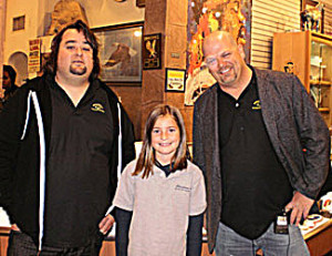 Chumlee, my daughter and Rick