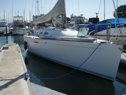 40 foot sailboat -- Beneteau