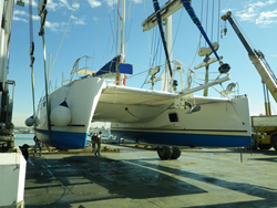 40 foot catamaran sailboat -- Catana