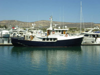 77 foot trawler -- custom